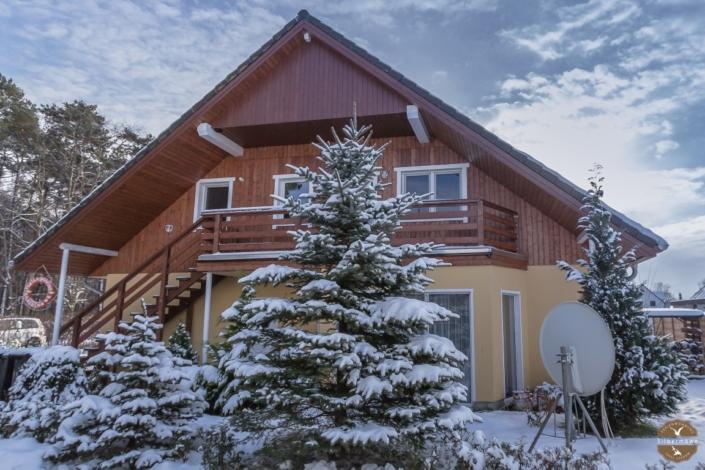 Die Ferienwohnung im Schnee