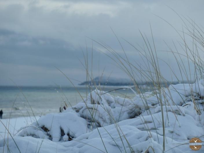 Verschneiter Strand Karlshagen